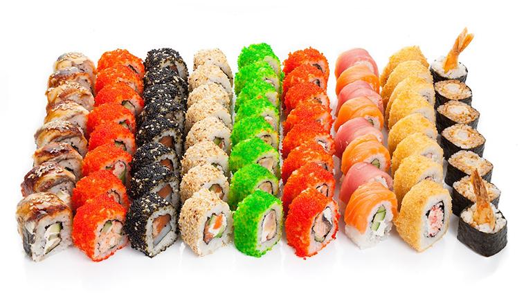 Разбираемся в деталях роллов и суши