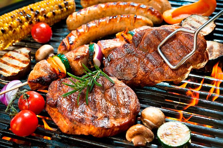 Разница между барбекю шашлыком готовые барбекю из камня